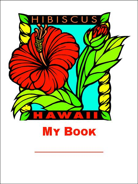 hibiscus bookplate
