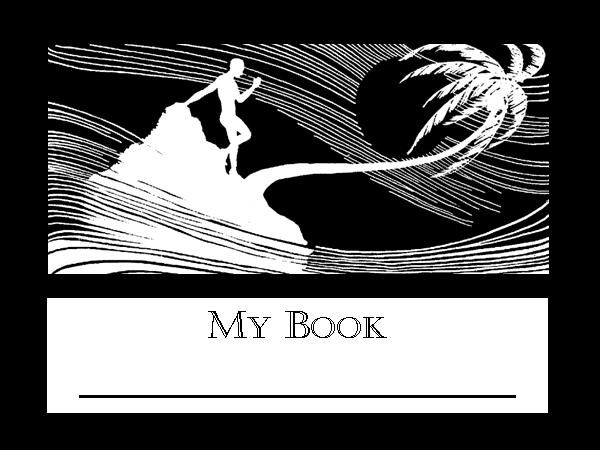 windswept black bookplate